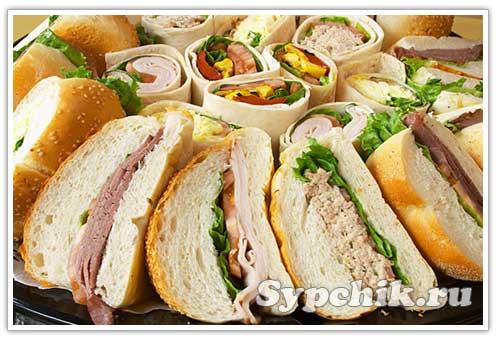 бутерброды смотреть рецепты
