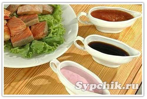 Белая рыба под овощным соусом – кулинарный рецепт