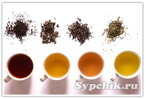 Приготовление и виды чая.  Рецепты чаев.