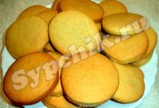 Выпечка - Быстрое печенье на майонезе