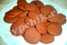 Выпечка - Шоколадное печенье на сгущенке