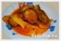 Картофель тушенный с кабачками