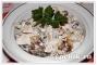 Мужской салат с бобами в мультиварке