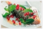 Рыба запеченная в виноградных листьях